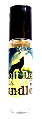 Wolf Den 10 ml Glass Roll on Bottle of Perfume Oil Not a Hollister Socal Product