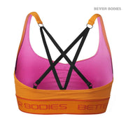 50% OFF Better Bodies Athlete Short Top - Bright Orange CLEARANCE - FINAL SALE