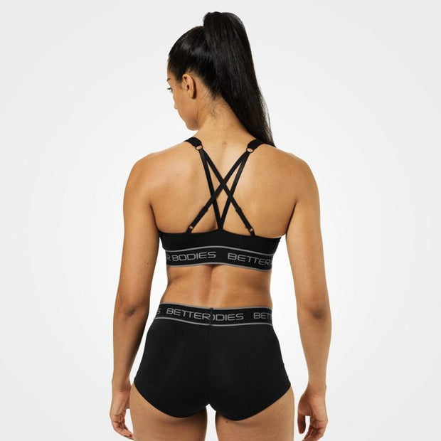 Better Bodies Athlete Short Top - Black