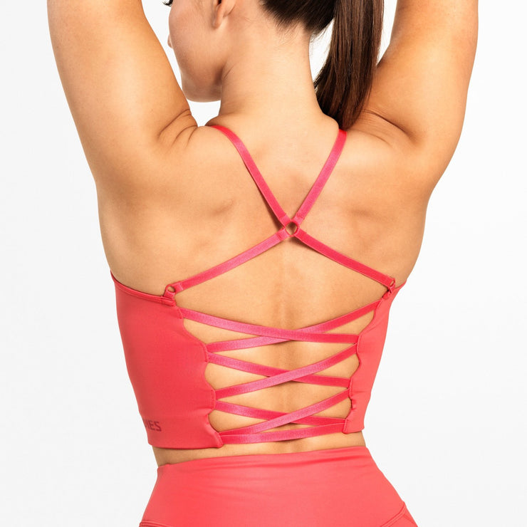 Better Bodies Vesey Strap Top - Coral