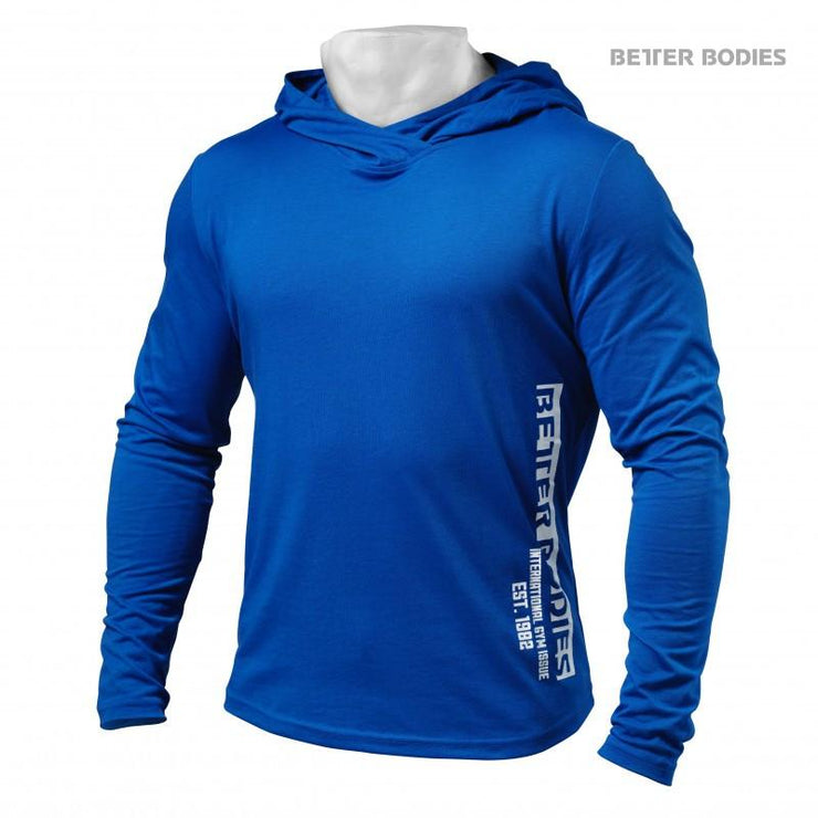 Better Bodies Mens Soft Hoodie - Strong Blue