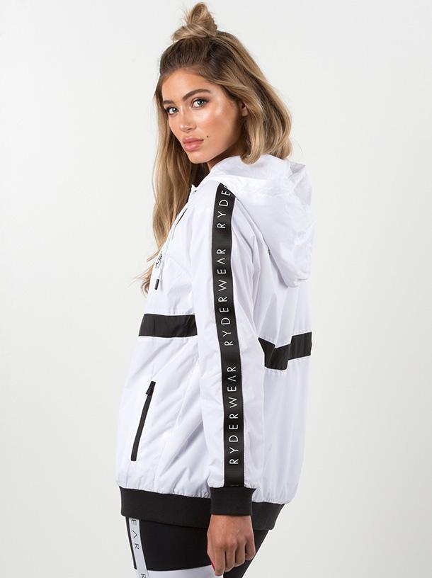 40% OFF Ryderwear Performance Jacket - White CLEARANCE - FINAL SALE