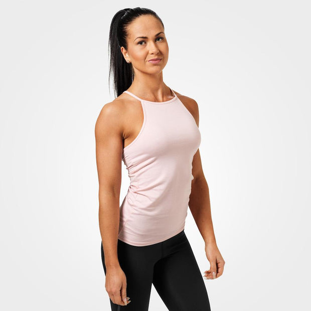 Better Bodies Performance Halter - Pink Melange