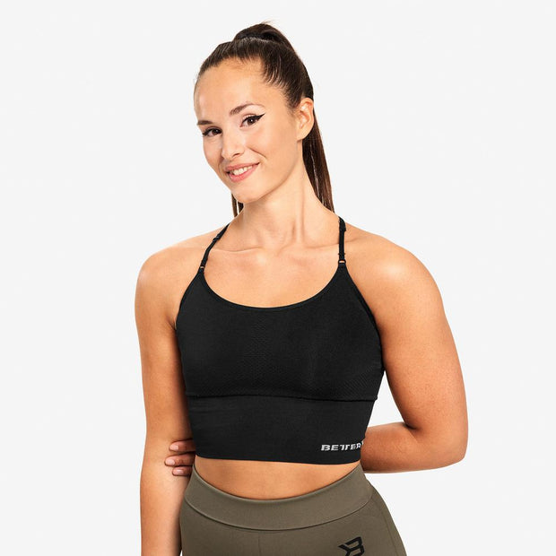 Better Bodies Astoria Seamless Bra - Black