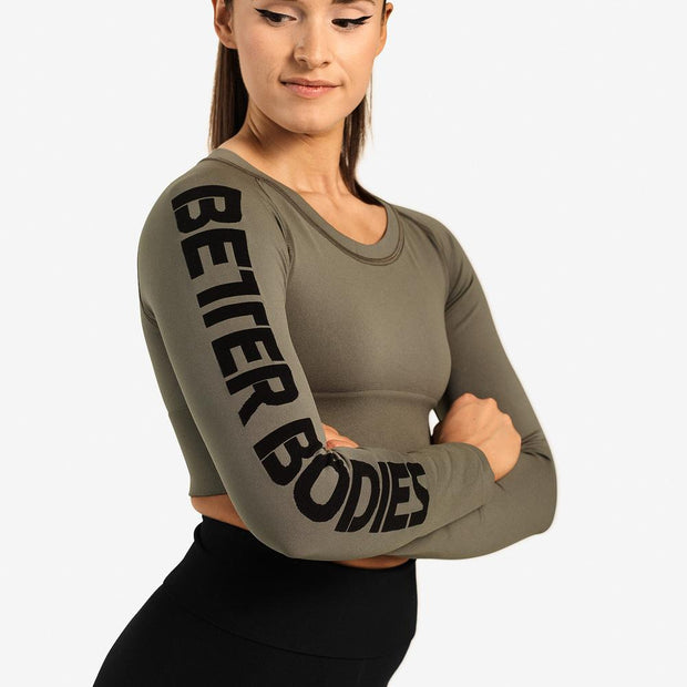Better Bodies Bowery Cropped Long Sleeve