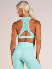 Ryderwear Seamless Sports Bra - Aqua Marl
