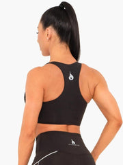 Ryderwear Lunar Luxe Sports Bra - Black