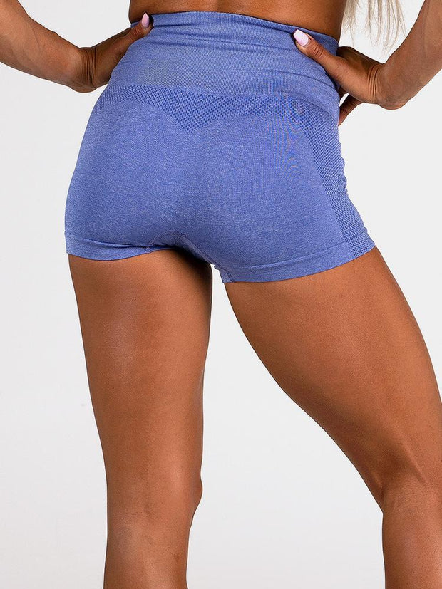 Ryderwear Seamless Shorts - Cobalt Blue
