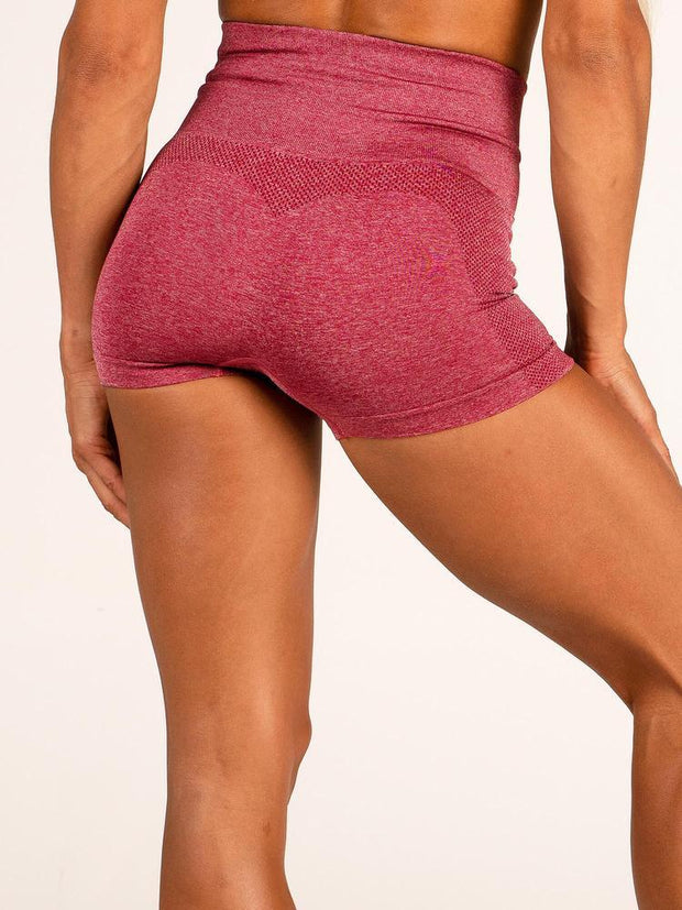 Ryderwear Seamless Shorts - Wine