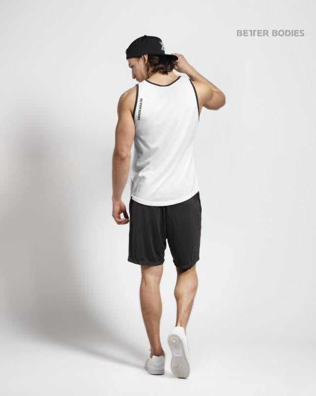 Better Bodies Jersey Tank - White