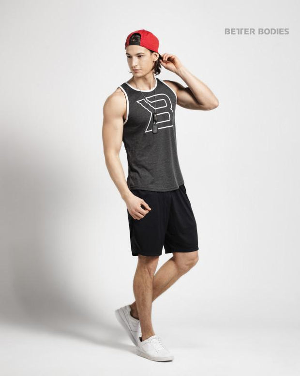 Better Bodies Jersey Tank - Anthracite