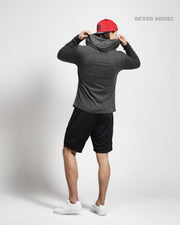Better Bodies Mens Soft Hoodie - Anthracite