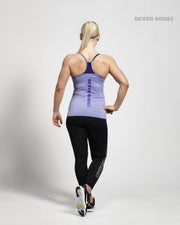 Better Bodies Performance Top - Purple Melange