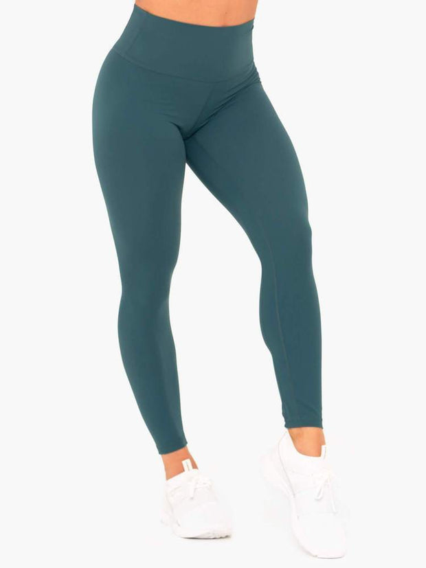 Ryderwear NKD High Waisted Leggings - Teal