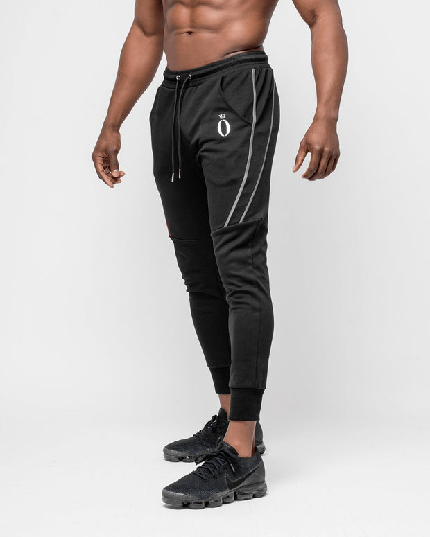HERA x HERO Dual Joggers - Black & White