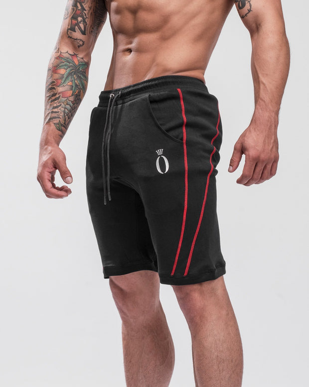 HERA x HERO Dual Shorts - Black & Red