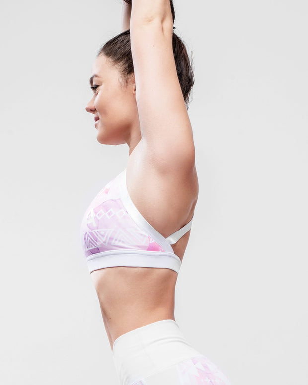 HERA x HERO ELA Sports Bra - Pink