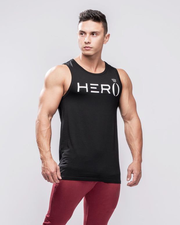 HERA x HERO Primo Tank Top - Black & White