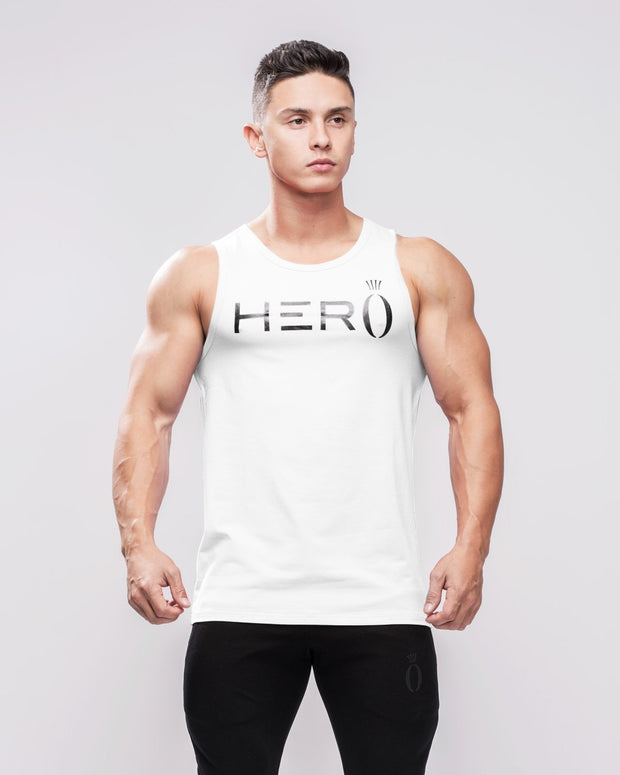 HERA x HERO Primo Tank Top - White & Black