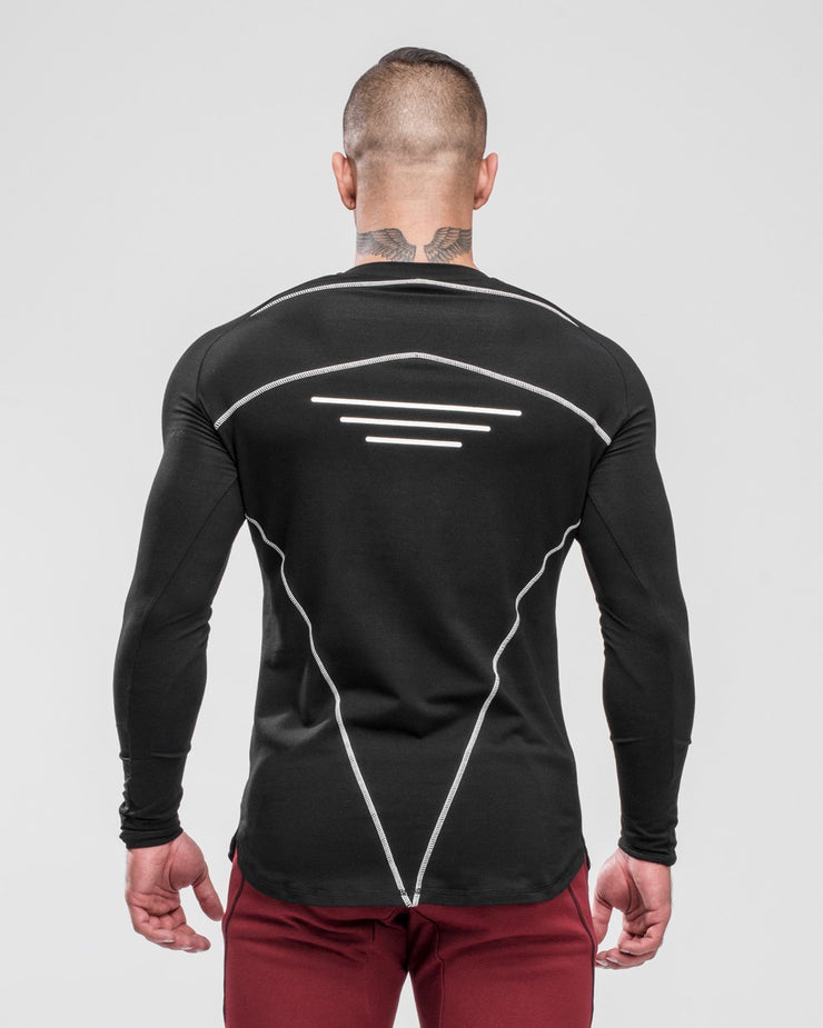 HERA x HERO Tri Long Sleeve - Black & White