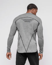 HERA x HERO Tri Long Sleeve - Dark Grey