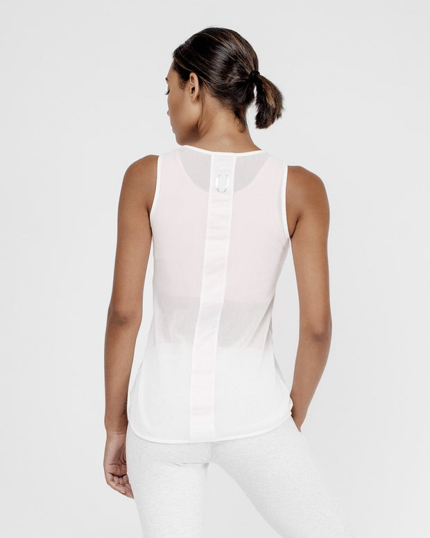 HERA x HERO Maia Mesh Tank Top - White