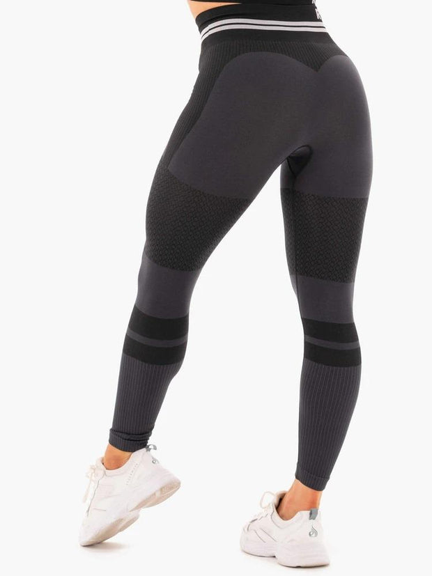 Ryderwear Freestyle Seamless High Waisted Leggings - Black