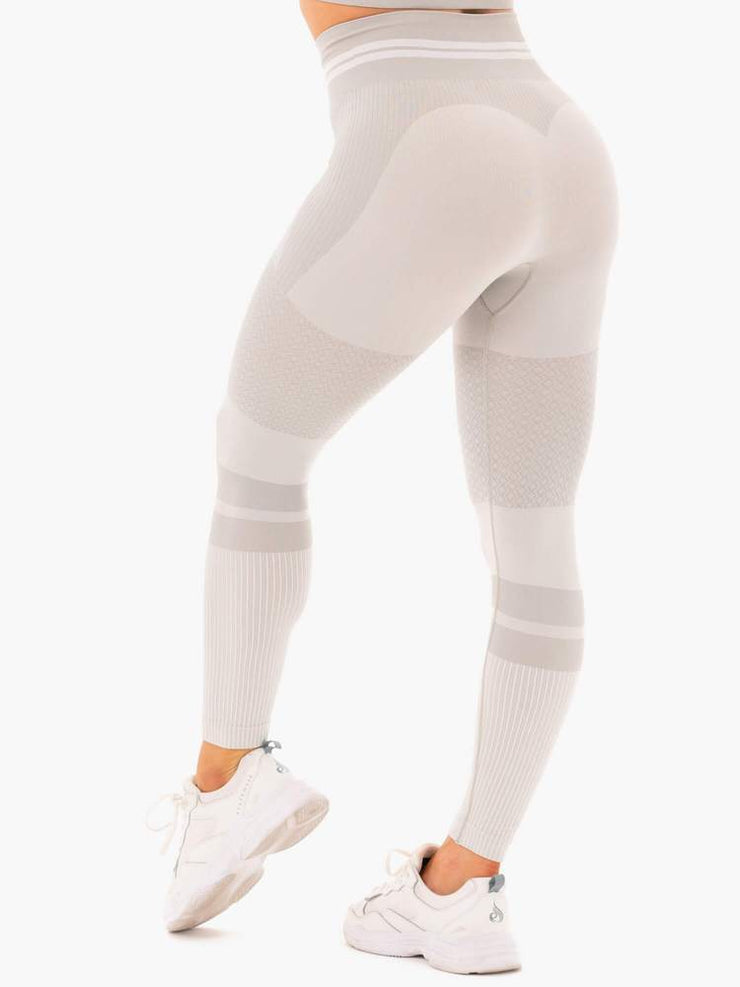 Ryderwear Freestyle Seamless High Waisted Leggings - Grey