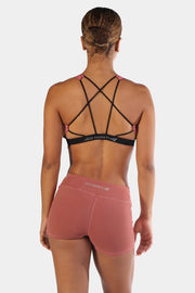 Jed North Serenity Sports Bra - Merlot