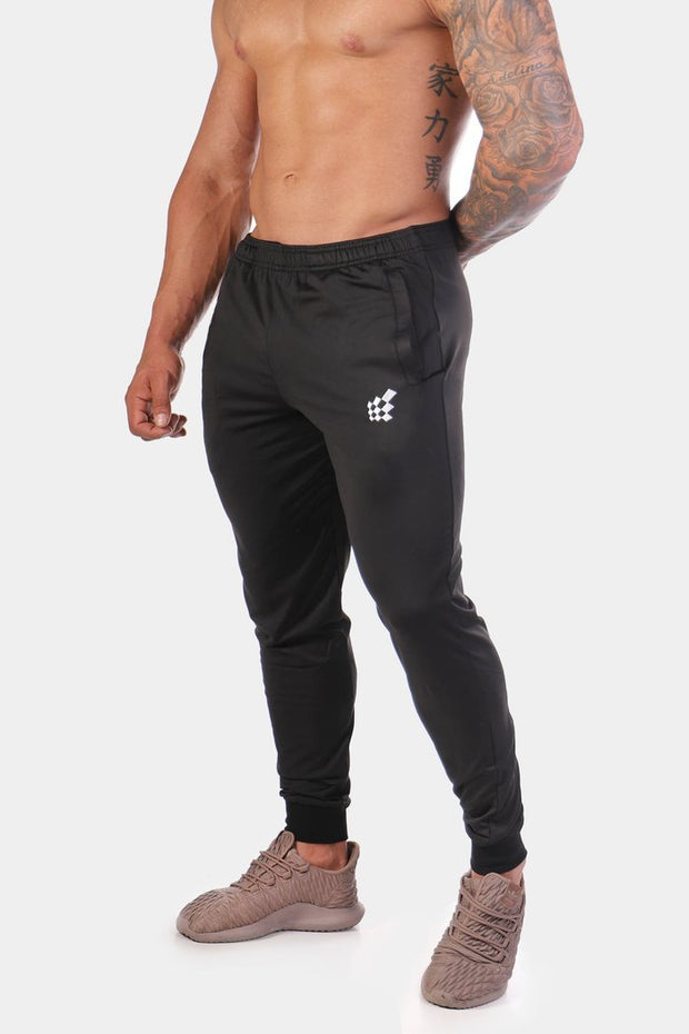 Jed North Matrix Tapered Joggers - Black