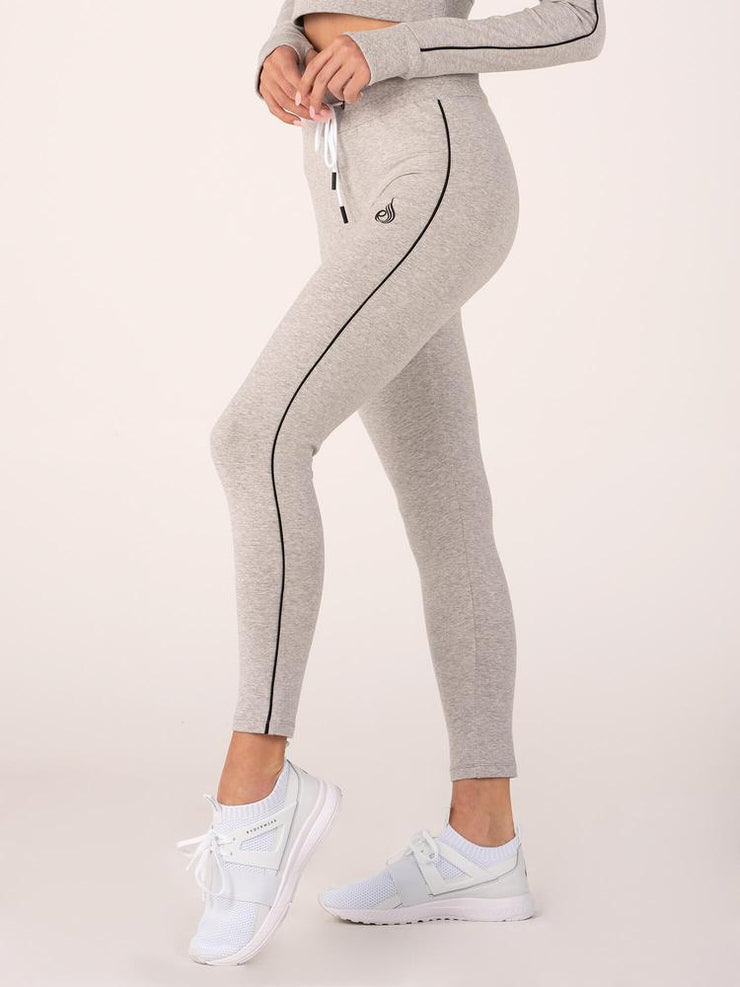 Ryderwear BSX High Waisted Leggings - Grey Marle