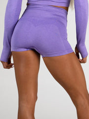 Ryderwear Seamless Shorts - Purple Marl