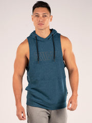 Ryderwear Royal Sleeveless Hoodie - Teal