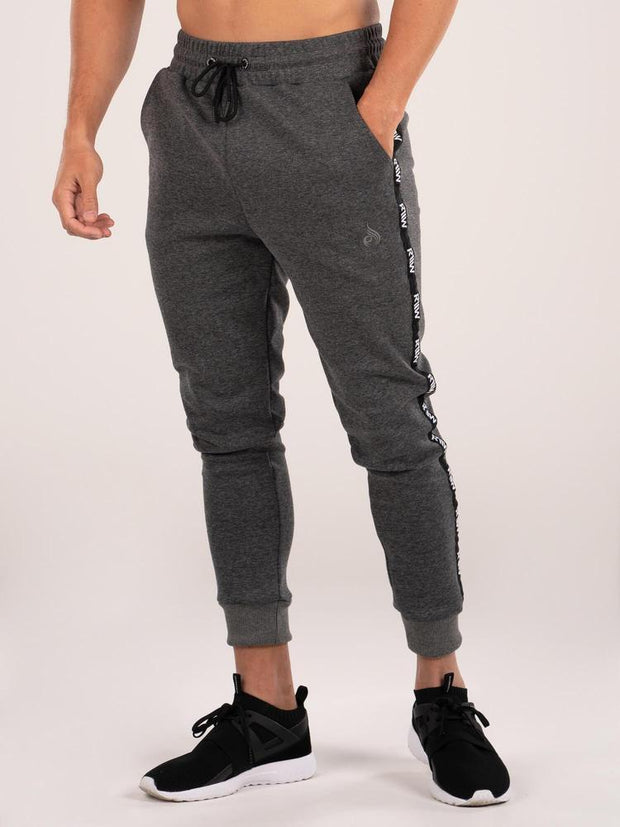Ryderwear Armour Track Pants - Charcoal Marle