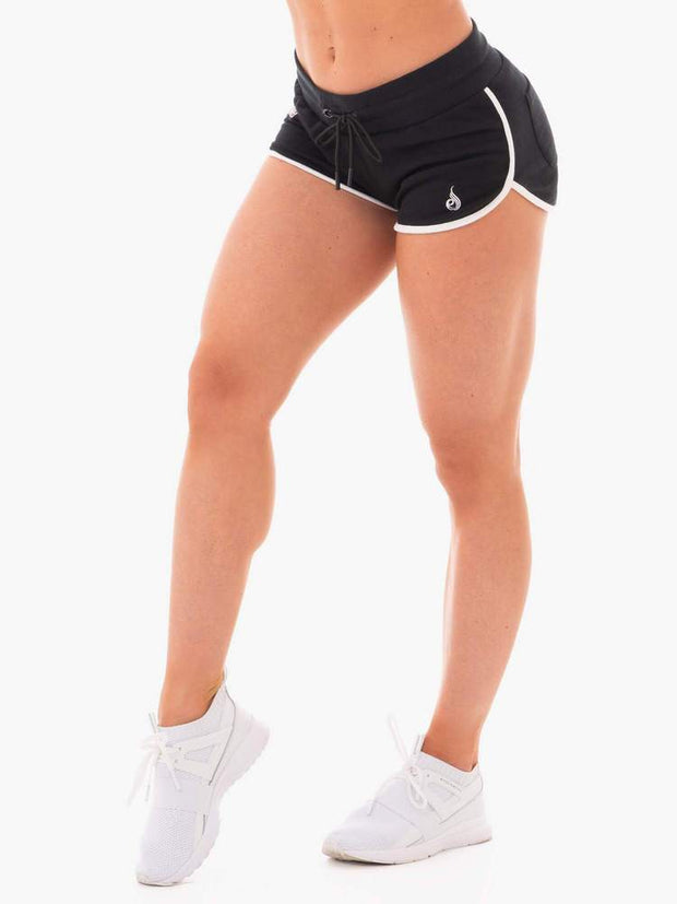 Ryderwear Courtside Track Shorts - Black