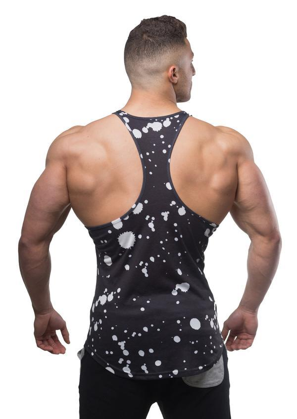 Jed North Graphic Stringer - Paint Splash