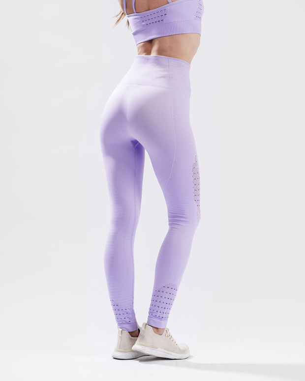 HERA x HERO XO Seamless Leggings - Purple