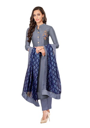 Vardan Festival Full Stitched long Suits with Bottom