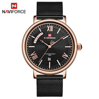 Naviforce Electroplating Business Class Watch For Men
