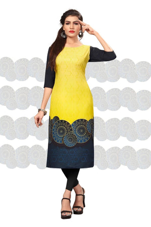 Load image into Gallery viewer, Woman's Straight Crepe Kurti