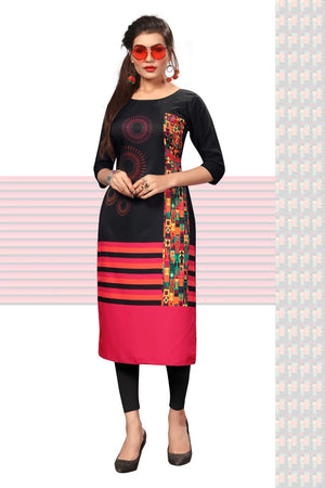 Load image into Gallery viewer, Ethnic American Crepe Kurti