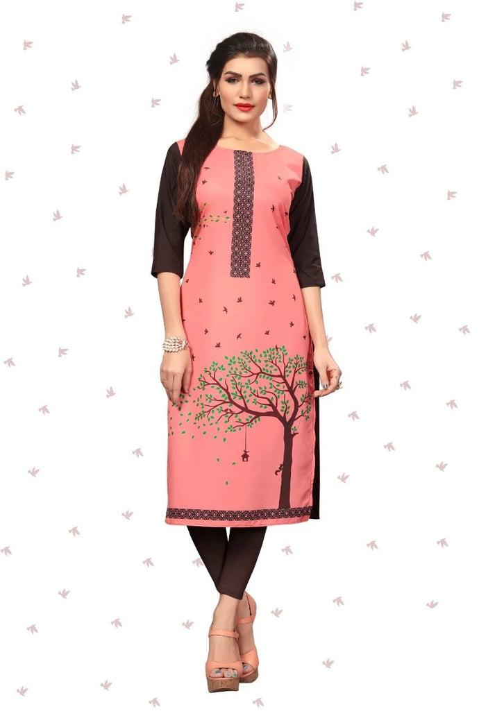 Royal Crepe Digital Print  Kurti