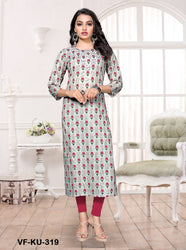 Vastrangini Fashion Cotton Readymade Kurtis for Woman