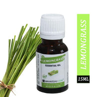 Nature Lemongrass Essential oil 100% Undiluted Pure and Natural Therapeutic grade for skin, Hair care, insect repellant and Aromatherapy