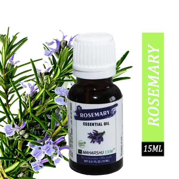Rosemary essential oil for hair growth, Skin and Aroma - 15ml