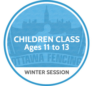 Children Class (Ages 11 to 13) - Winter Session