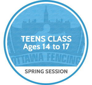 Teens Class (Ages 14 to 17) - Spring Session