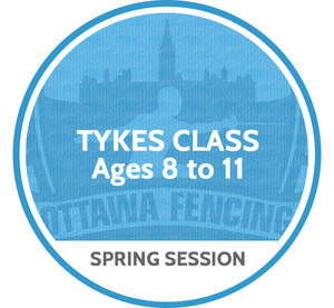 Tykes Class (Ages 8 to 10) - Spring Session