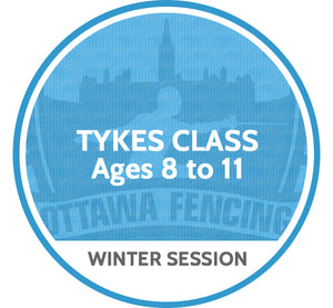 Tykes Class (Ages 8 to 10) - Winter Session