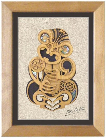 Large Framed Tiki